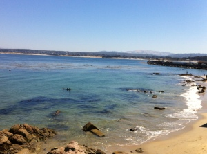 Breakwater Cove dive spot in Monterey where DUI had set up their Demo Day. Photo by: Pamela Neeb Wade
