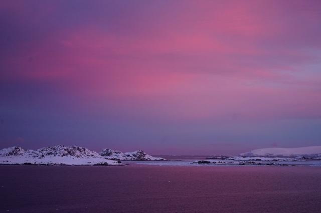 Palmer sunrise.